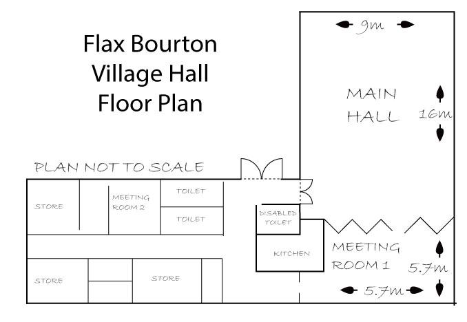 Village hall floor plan flax bourton village hall village hall floor plan fandeluxe Image collections
